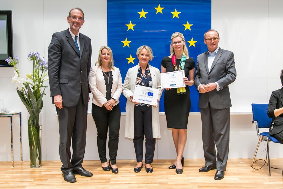 Bild 37 | Verleihungszeremonie Botschafterschulen des Europäischen Parlaments mit BM Heinz Faßmann