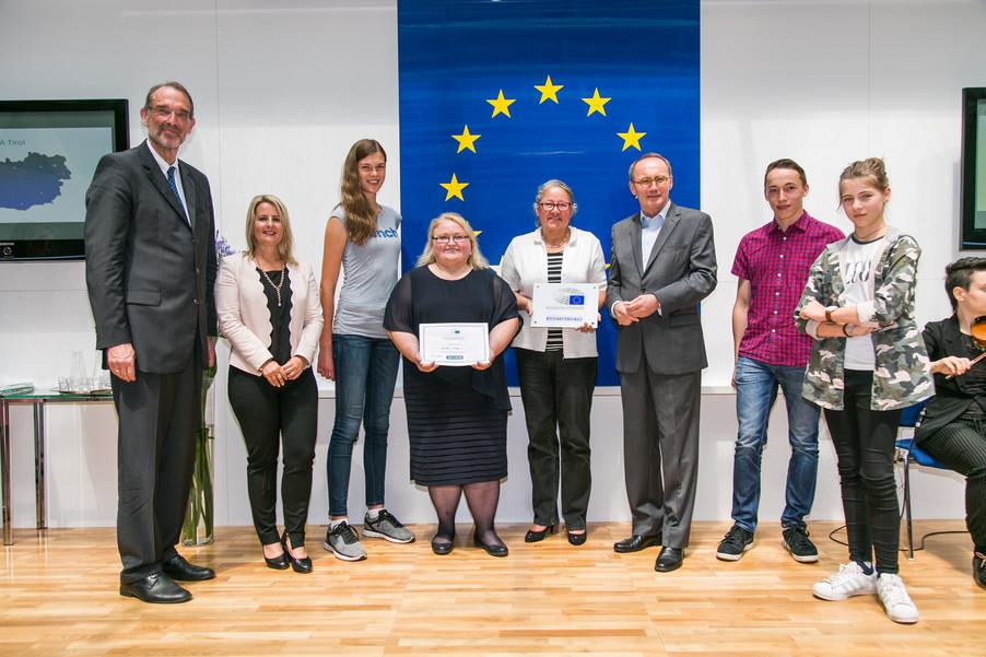 Bild 39 | Verleihungszeremonie Botschafterschulen des Europäischen Parlaments mit BM Heinz Faßmann