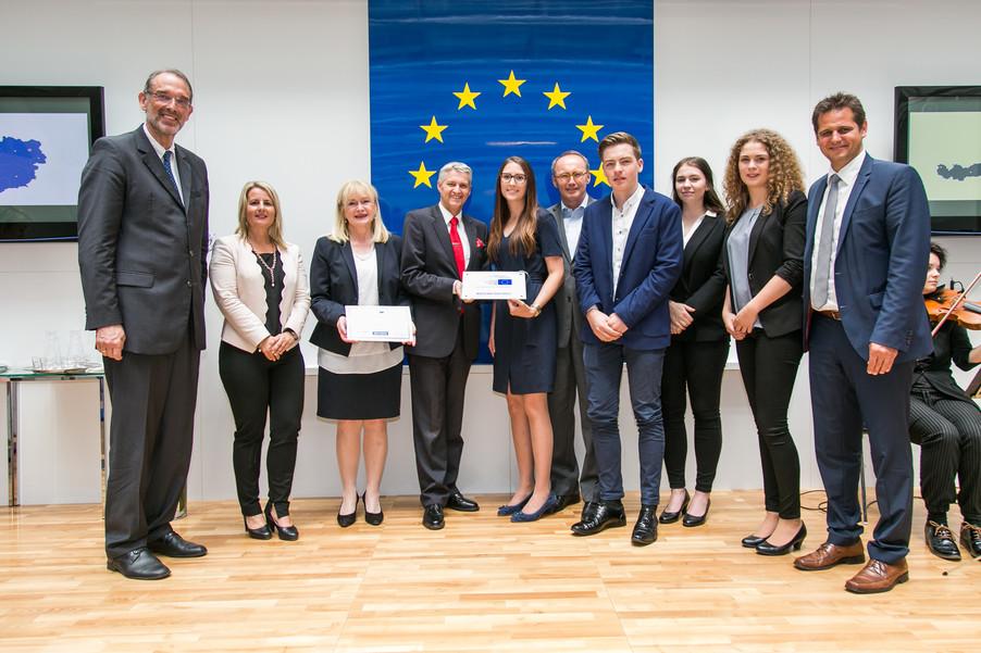 Bild 41 | Verleihungszeremonie Botschafterschulen des Europäischen Parlaments mit BM Heinz Faßmann