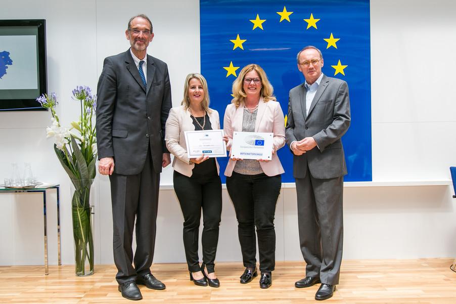 Bild 42 | Verleihungszeremonie Botschafterschulen des Europäischen Parlaments mit BM Heinz Faßmann