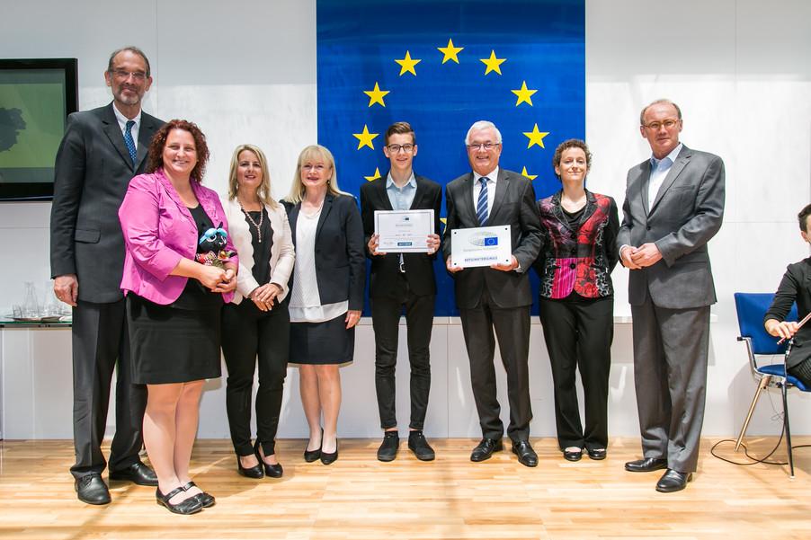 Bild 43 | Verleihungszeremonie Botschafterschulen des Europäischen Parlaments mit BM Heinz Faßmann