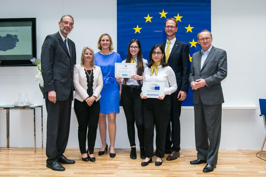 Bild 48 | Verleihungszeremonie Botschafterschulen des Europäischen Parlaments mit BM Heinz Faßmann