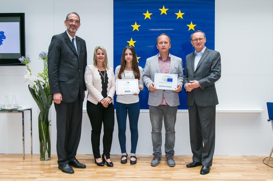 Bild 49 | Verleihungszeremonie Botschafterschulen des Europäischen Parlaments mit BM Heinz Faßmann
