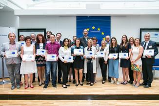 Bild 54 | Verleihungszeremonie Botschafterschulen des Europäischen Parlaments mit BM Heinz Faßmann