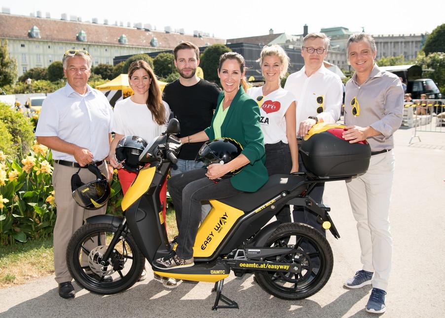 Bild 1 | ÖAMTC startet Elektro-Scooter-Sharing in Wien
