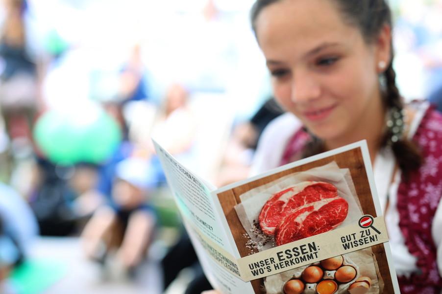 Bild 34 | Initiative der Landwirtschaftskammer Österreich: Unser Essen, wo´s herkommt: Gut zu wissen