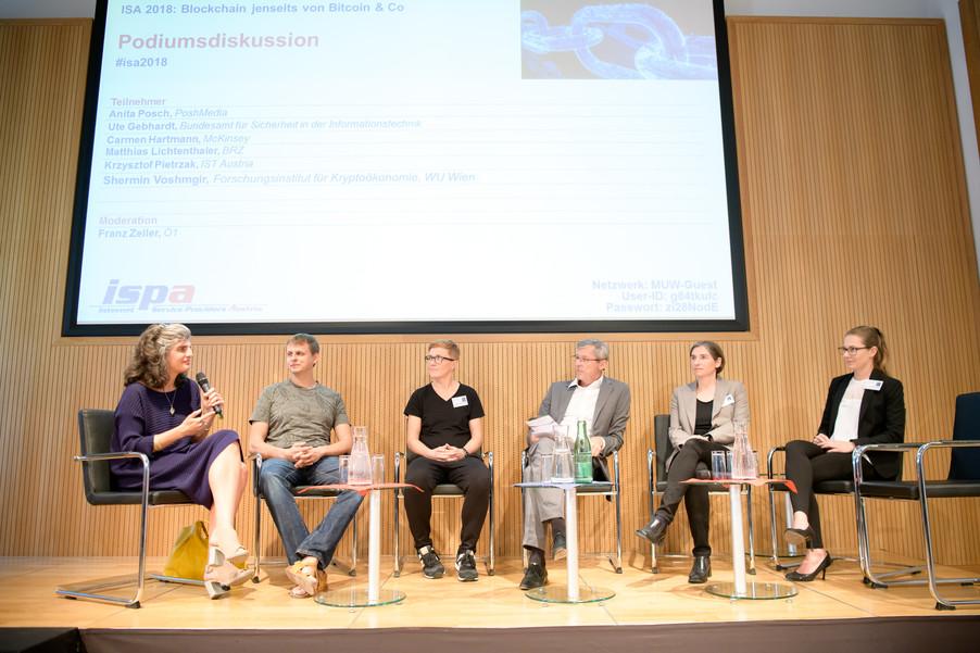 Bild 1 | Internet Summit Austria 2018: Blockchain jenseits von Bitcoin & Co