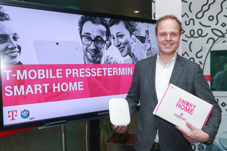 Bild 1 | Pressetermin Smart Home von T-Mobile