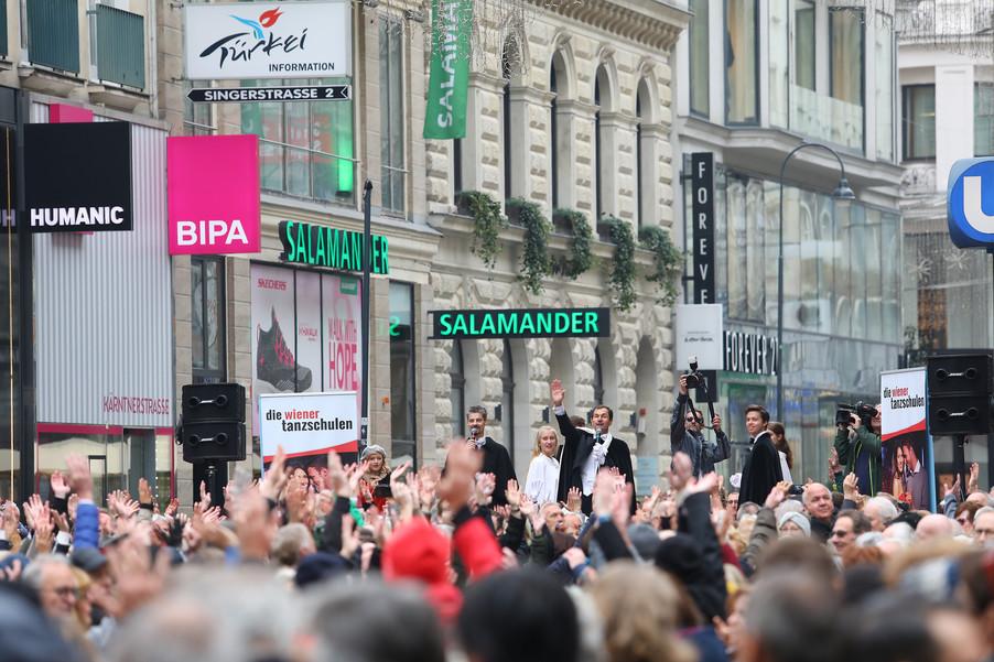 Bild 7 | Faschingseröffnung der Wiener Tanzschulen in der Wiener Innenstadt