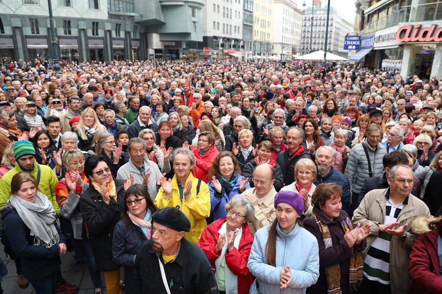 Bild 19 | Faschingseröffnung der Wiener Tanzschulen in der Wiener Innenstadt