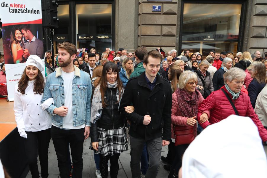 Bild 26 | Faschingseröffnung der Wiener Tanzschulen in der Wiener Innenstadt