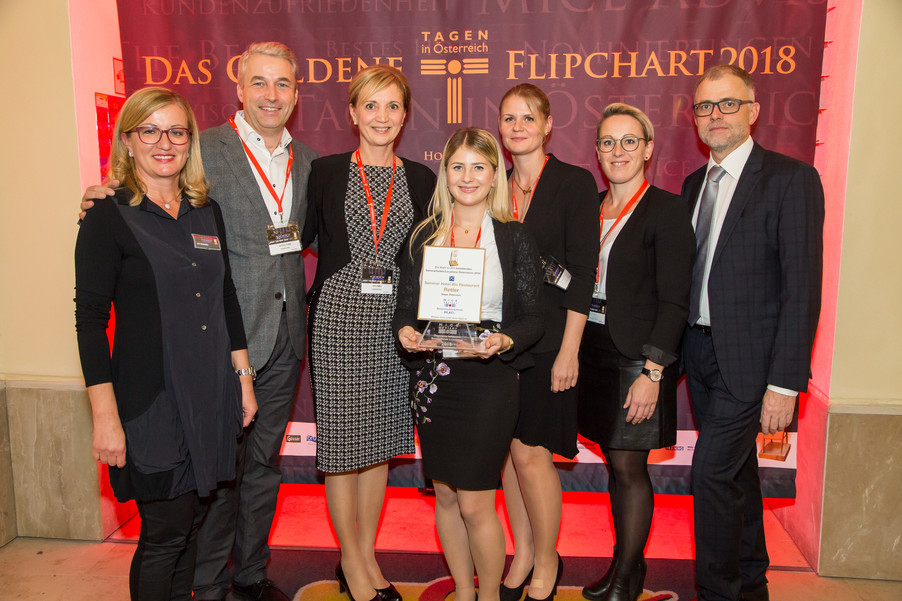 Bild 1 | Meet the Best –  Tagen in Österreich  verleiht die Goldenen Flipcharts  an die beliebtesten ...