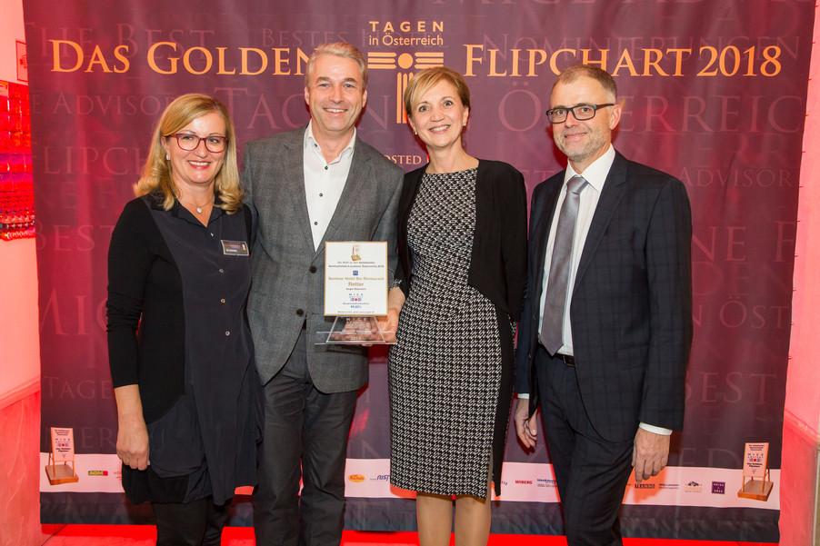 Bild 5 | Meet the Best –  Tagen in Österreich  verleiht die Goldenen Flipcharts  an die beliebtesten ...