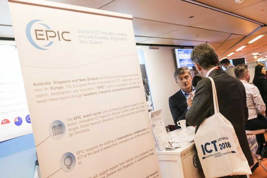 Bild 27 | EPIC @ ICT 2018 Vienna