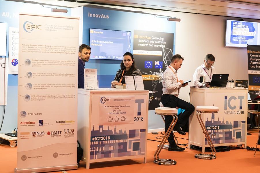 Bild 29 | EPIC @ ICT 2018 Vienna