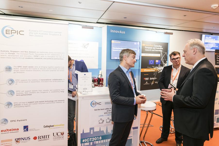 Bild 3 | EPIC @ ICT 2018 Vienna