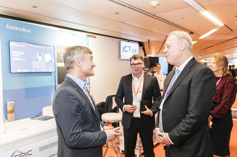Bild 4 | EPIC @ ICT 2018 Vienna