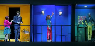 """Bild 7   Barbara Massaro in der Rolle der """"Berenice"""", Daniele Antonangeli in der Rolle des ..."""