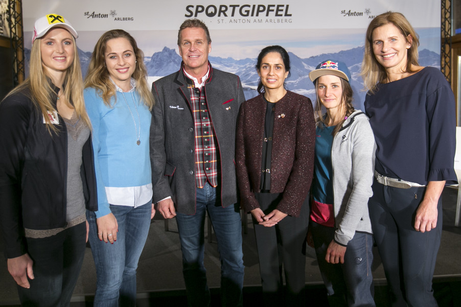 Bild 6   1. Sportgipfel Tirol - St. Anton am Arlberg