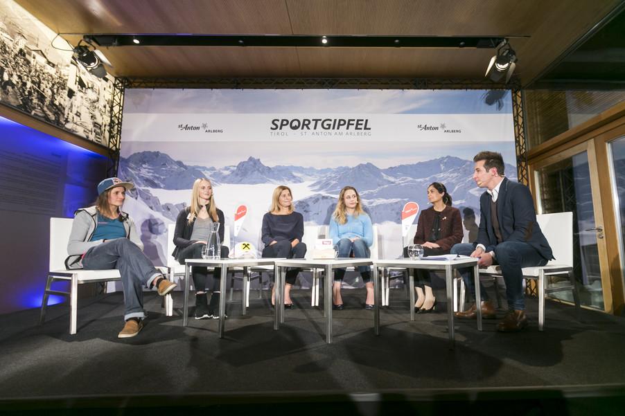 Bild 1   1. Sportgipfel Tirol - St. Anton am Arlberg