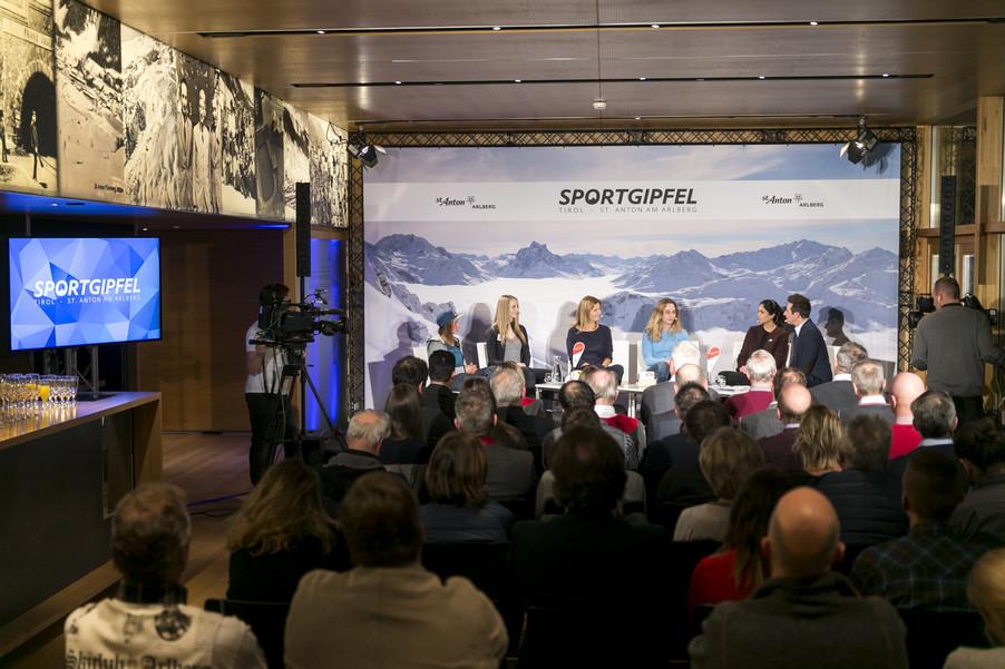 Bild 45   1. Sportgipfel Tirol - St. Anton am Arlberg
