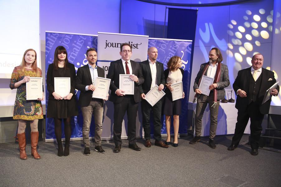 Bild 84   Journalisten des Jahres