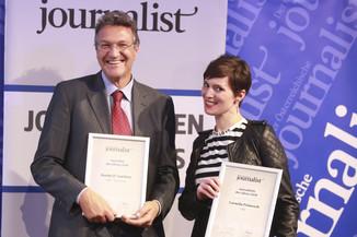 Bild 122   Journalisten des Jahres