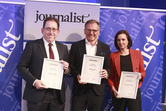Bild 125   Journalisten des Jahres