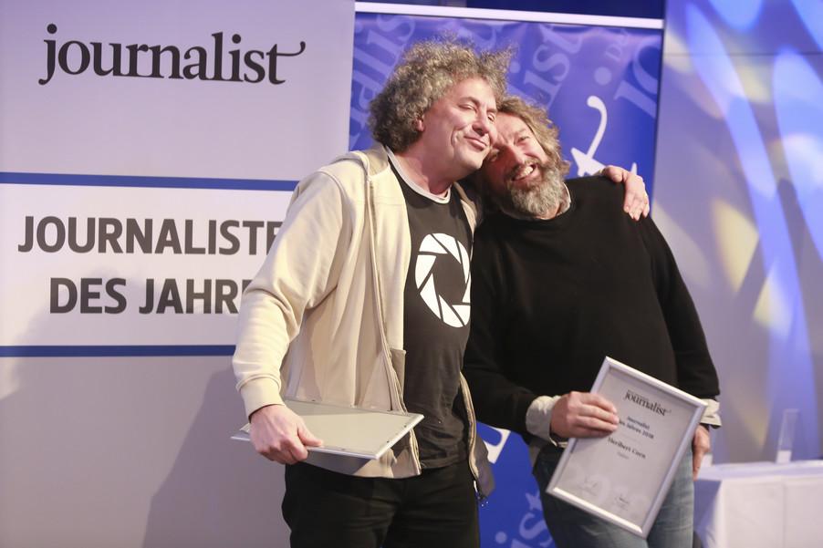 Bild 153   Journalisten des Jahres