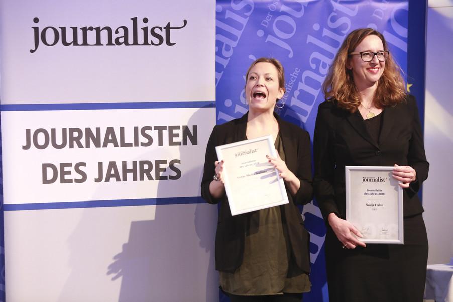 Bild 155   Journalisten des Jahres