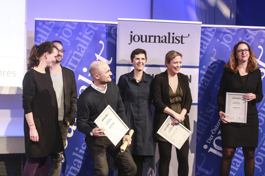 Bild 156   Journalisten des Jahres