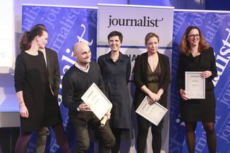 Bild 158   Journalisten des Jahres