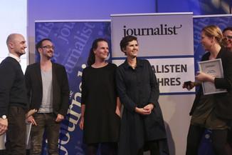 Bild 160   Journalisten des Jahres