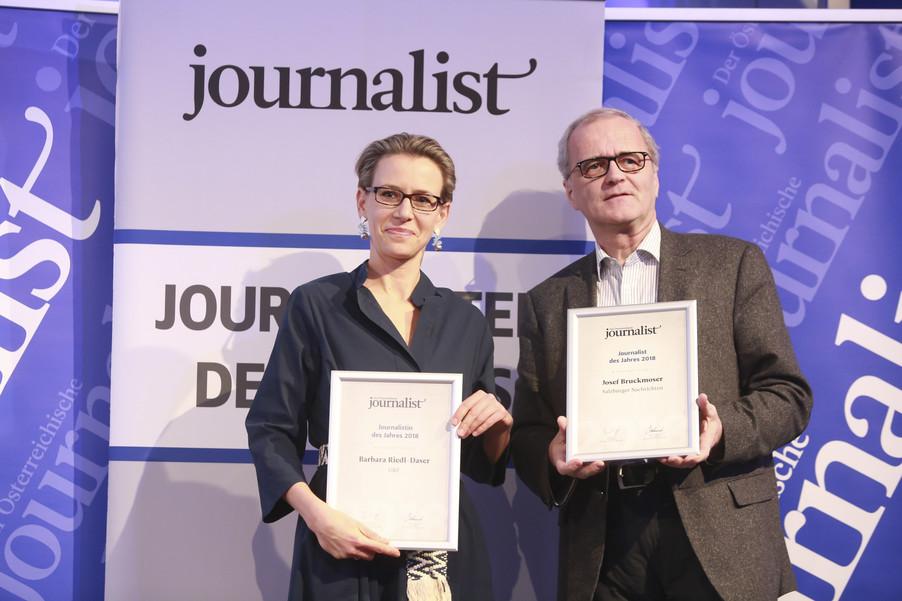 Bild 161   Journalisten des Jahres