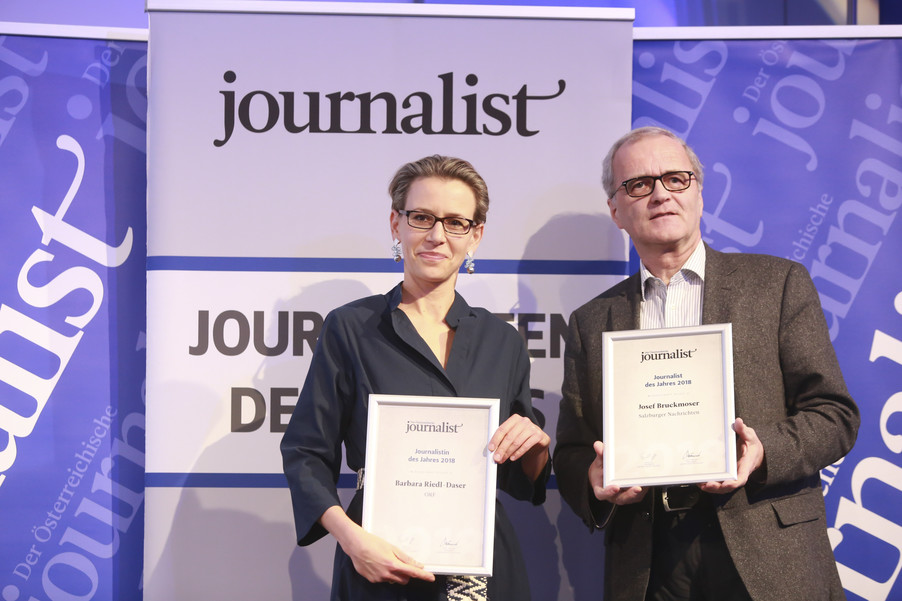 Bild 163   Journalisten des Jahres