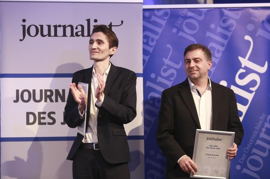 Bild 165   Journalisten des Jahres