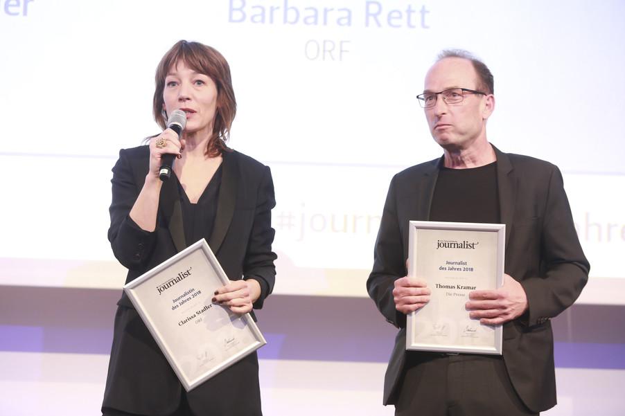 Bild 186   Journalisten des Jahres