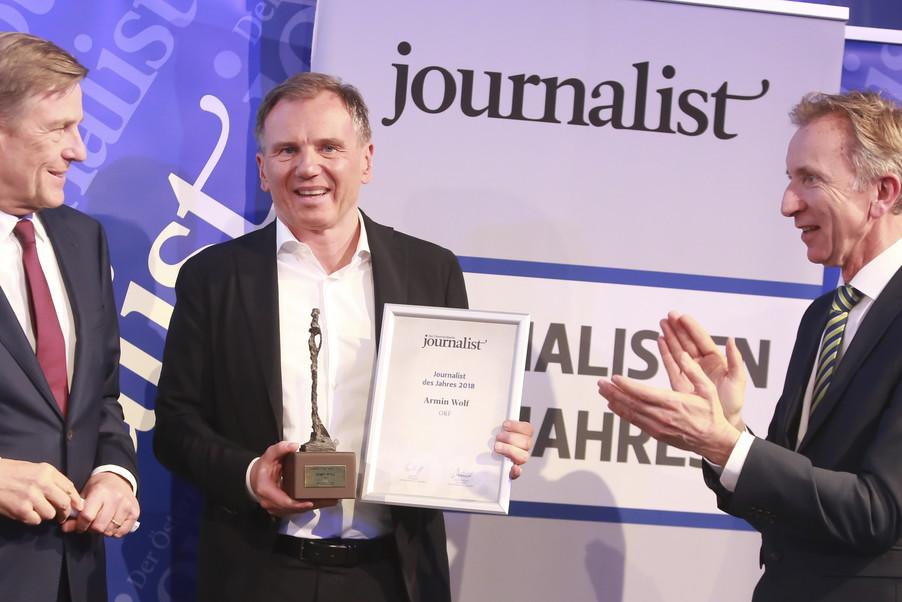 Bild 232   Journalisten des Jahres