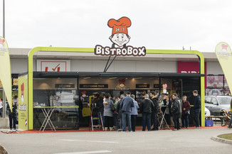 Bild 2   OESTERREICH / Wien / 20.03.2019 / BistroBox eröffnet in Wien.Foto: BistroBox ...