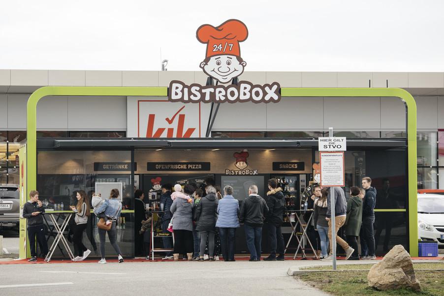 Bild 8   OESTERREICH / Wien / 20.03.2019 / BistroBox eröffnet in Wien.Foto: BistroBox ...