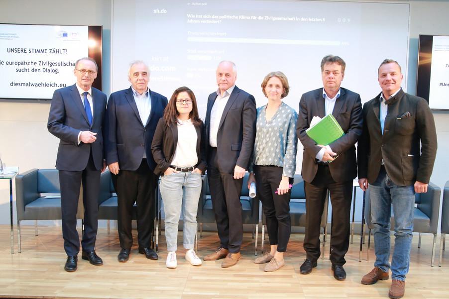 Bild 4 | Europawahl 2019: Die Europäische Zivilgesellschaft im Dialog