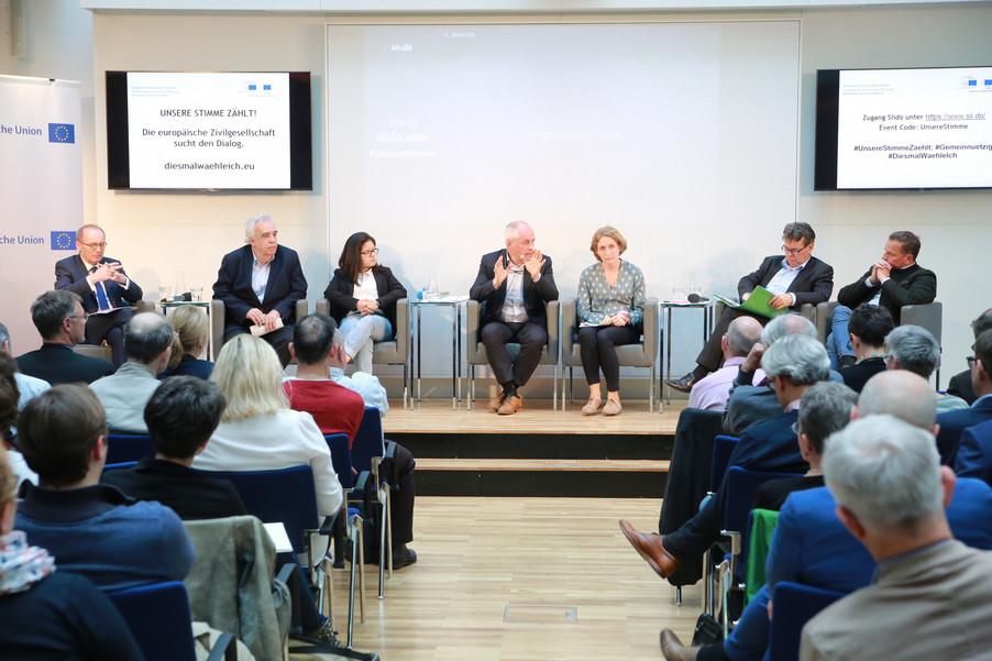 Bild 56 | Europawahl 2019: Die Europäische Zivilgesellschaft im Dialog