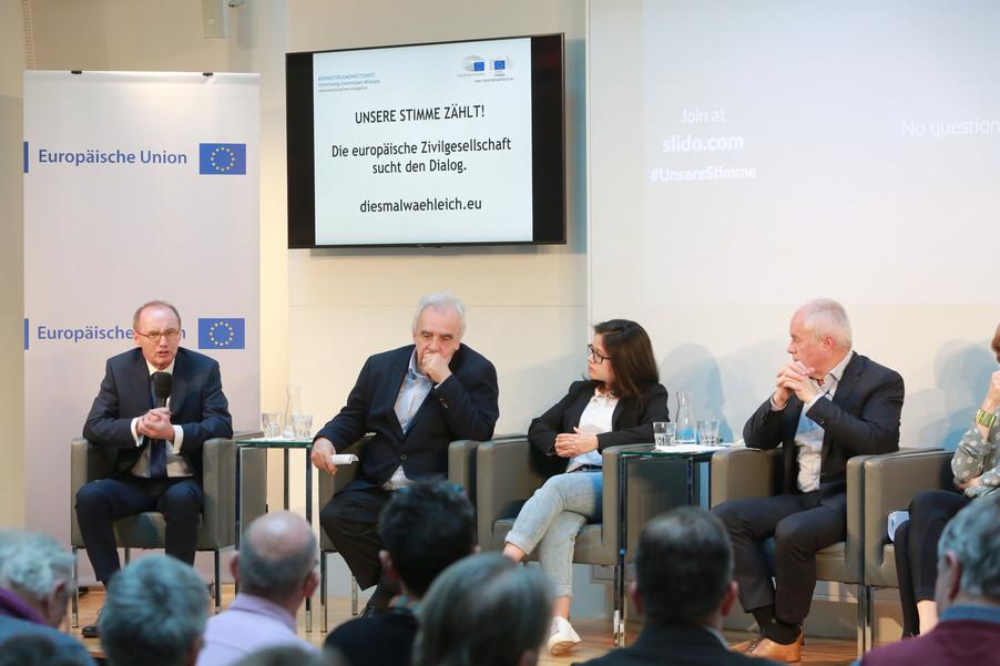 Bild 85 | Europawahl 2019: Die Europäische Zivilgesellschaft im Dialog