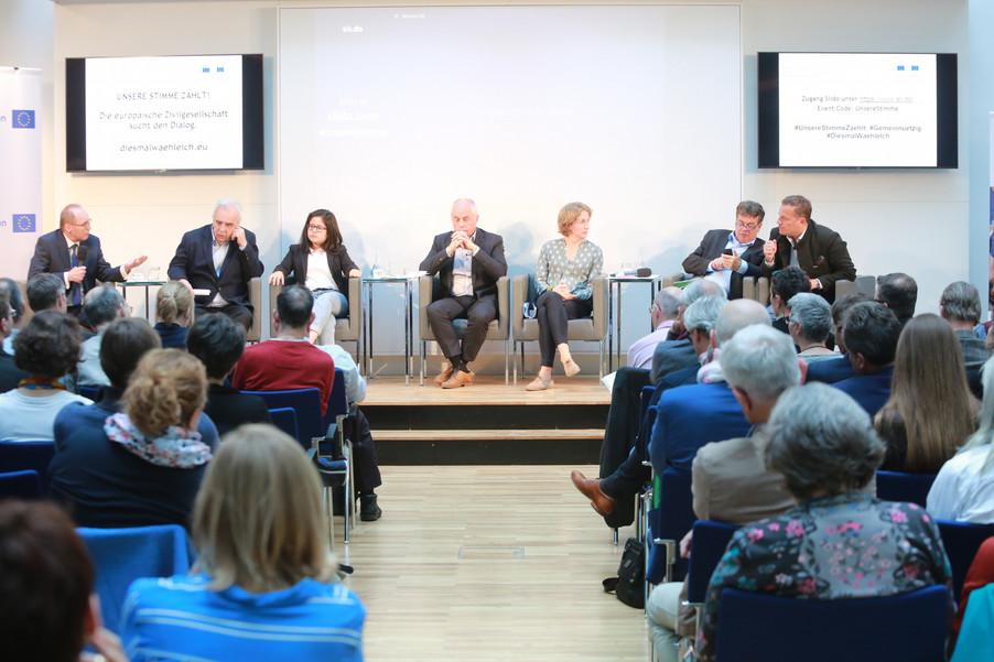 Bild 91 | Europawahl 2019: Die Europäische Zivilgesellschaft im Dialog