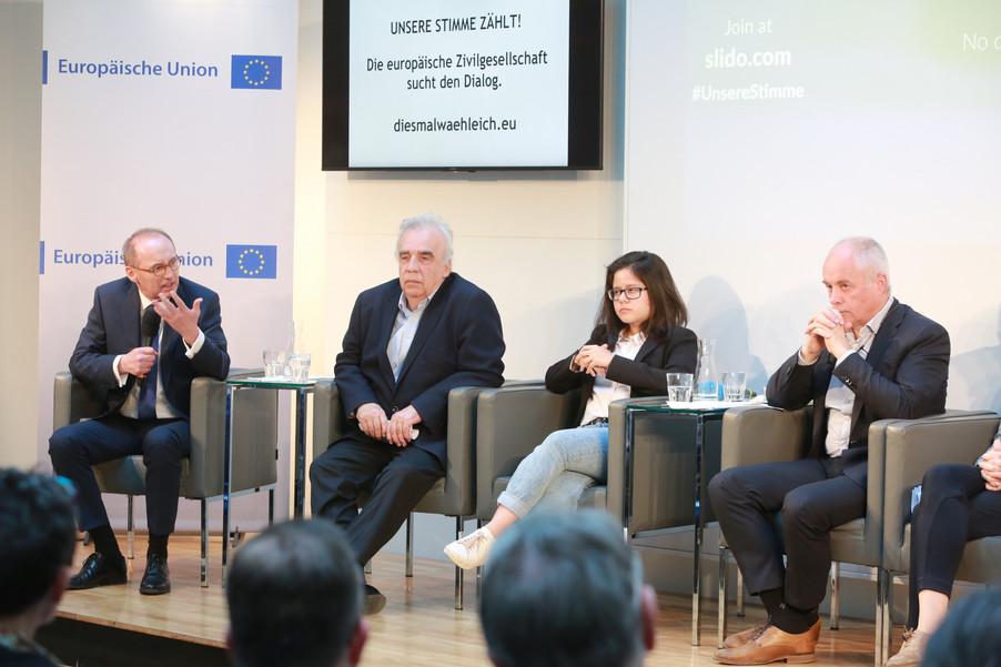 Bild 92 | Europawahl 2019: Die Europäische Zivilgesellschaft im Dialog