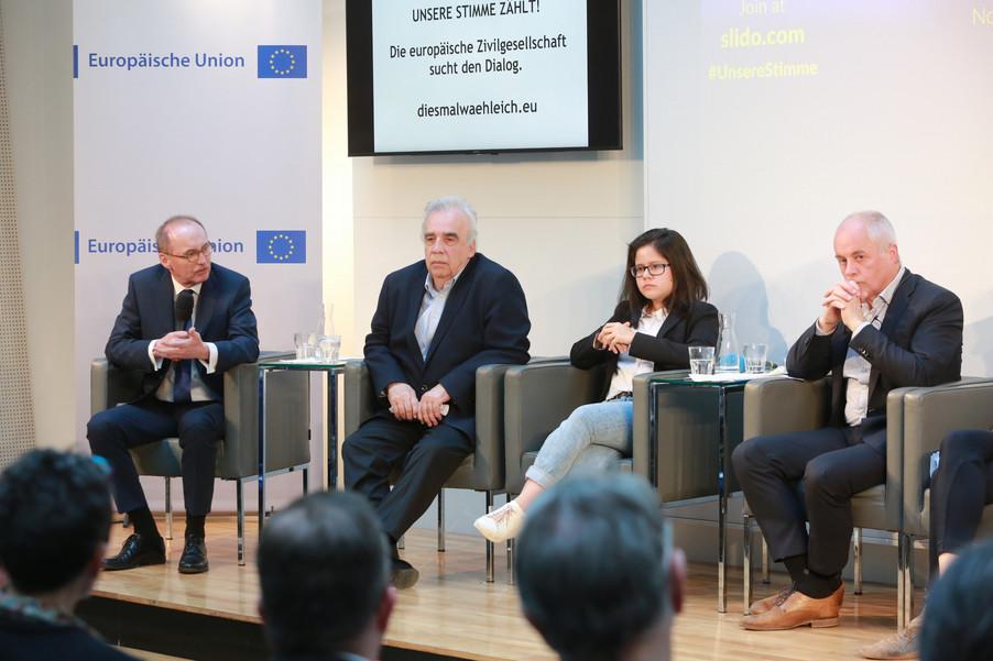 Bild 87 | Europawahl 2019: Die Europäische Zivilgesellschaft im Dialog