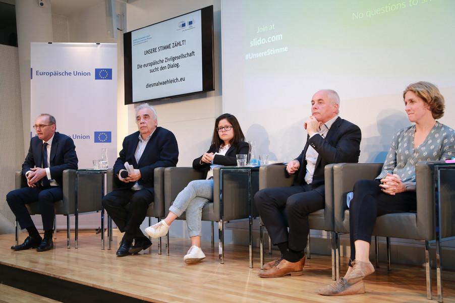 Bild 89 | Europawahl 2019: Die Europäische Zivilgesellschaft im Dialog