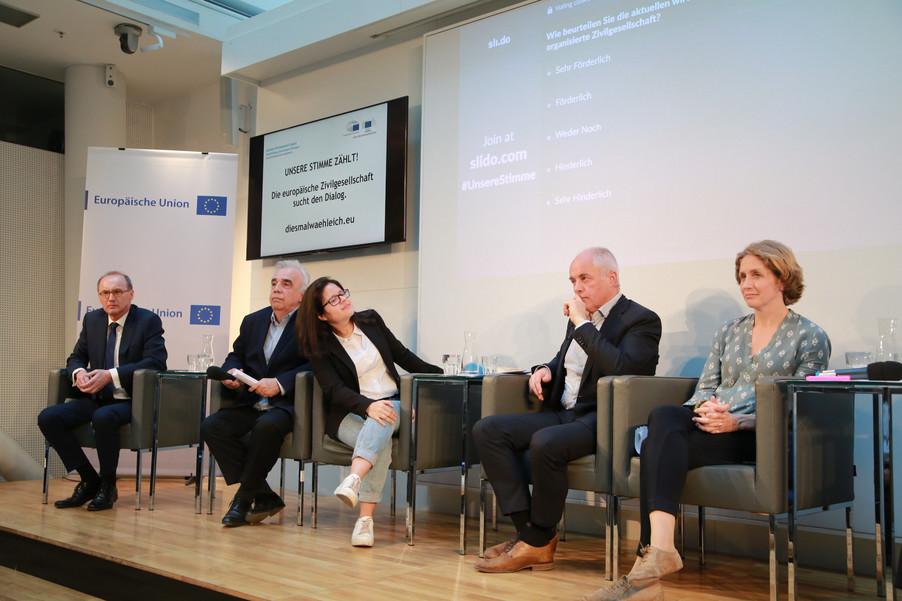 Bild 93 | Europawahl 2019: Die Europäische Zivilgesellschaft im Dialog