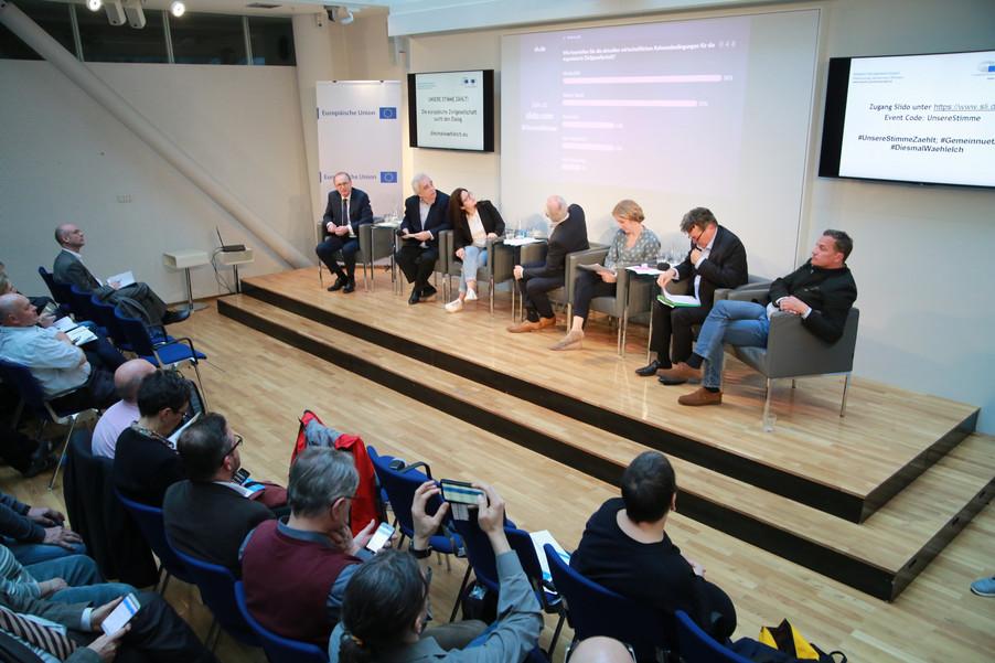 Bild 84 | Europawahl 2019: Die Europäische Zivilgesellschaft im Dialog