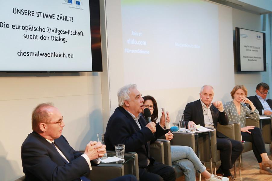 Bild 100 | Europawahl 2019: Die Europäische Zivilgesellschaft im Dialog
